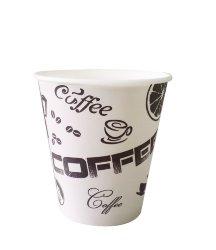 Купить бумажные одноразовые стаканчики для кофе оптом в