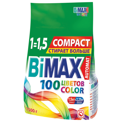 СМС BiMax Color м/у 1500гр автомат в Крыму